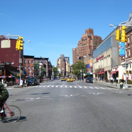 7th Avenue höhe Greenwich Village in NYC