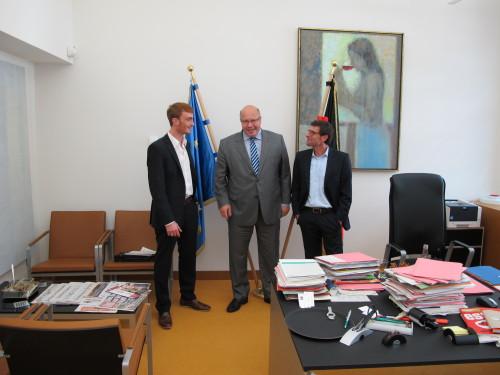 im ministerialbüro bei peter altmaier (CDU)