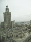 Kulturpalast im Zentrum Warschaus