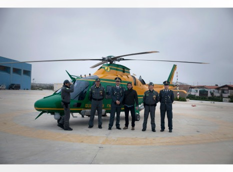 Hubschrauberkommando Guardia di Finanza Lampedusa